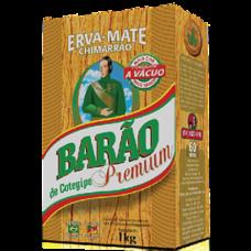 5x ERVA MATE BARÃO PREMIUM 1KG (Chimarrão)