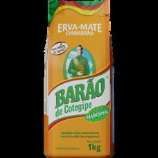5x ERVA MATE BARÃO TRADICIONAL 1KG (Chimarrão)
