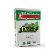 05x ERVA MATE CAMPANÁRIO DETOX 500G (Meia Caixa)